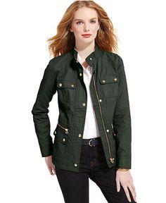 Tommy Hilfiger Utility Jacket - Jackets & Blazers - Women - Macy's