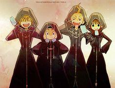 Twilight gang in Organization uniform