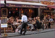 https://flic.kr/p/ATz7E9   Café de Paris: Brasserie, Salon de Thé   10, Rue de Buci, Paris