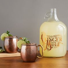 Copper Mule Mugs, Beer Brewing Kits, Moscow Mule Recipe, Beer Making Kits, Home Brewing Equipment, How To Make Beer, Ginger Beer, Bubble Tea, Ale