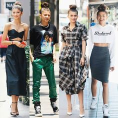 Which outfit is your favorite?  #zendaya @zendaya #Steevane #SV