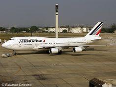Boeing 747-400 - F-GEXB - Air France - Galeão (SBGL / GIG)
