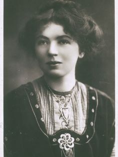 """Christabel Pankhurst: 1880-1958; Christabel (daughter of Emmeline Pankhurst) advocated the use of militant tactics to win the vote for women in England.  Pankhurst, with Annie Kenney, unfurled a banner reading """"Votes for Women"""" at a Liberal Party meeting in 1905.  Her action received world-wide attention after they were thrown out of the meeting.  The two were arrested and sent to prison.  Christabel then directed a campaign that included physical action, hunger strikes, and huge rallies."""
