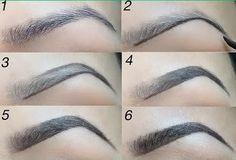Resultado de imagem para how to draw eyebrows