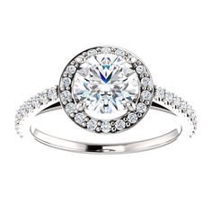 Incredible 1.83 VS2 Diamond Engagement Ring