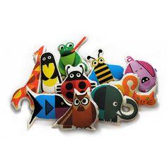 Cojín animales - Bibu www.petittandem.com