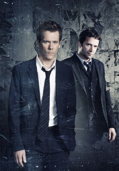 """Kevin Bacon & James Purefoy in """"The Following"""""""