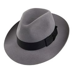 Christys Hats Knightsbridge Fedora - Light Grey a7fcd1facb84
