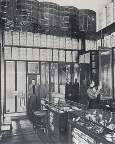 Goldman & Salatsch men's wear shop. Vienna, Austria 1898.