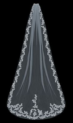 Wedding Veils :     Picture    Description  So Elegant! Lace Cathedral Length Wedding Veil enVogue V1597C – Affordable Elegance Bridal –    - #Veils https://weddinglande.com/accessories/veils/wedding-veils-so-elegant-lace-cathedral-length-wedding-veil-envogue-v1597c-affordable-elega/