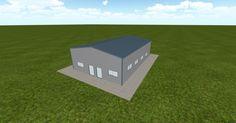 3D #architecture via @themuellerinc http://ift.tt/2hjtkPj #barn #workshop #greenhouse #garage #DIY