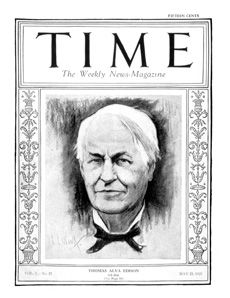 Celebrate Thomas Edison's Birthday and improve #reading comprehension with this TIME Magazine #biography! Grade: 4-8