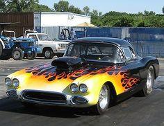 1958 Corvette Bracket Drag Race Car