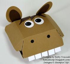 Hamburger Box Crittters- Horse