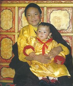 Karmapa et le 4ème Jamgon Kongtrul Rinpoche