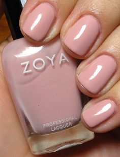 Zoya - Avril (my new FAVORITE nude color)