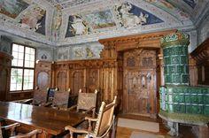 Piuro SO - Lombardy North Italy -Sala di Giunone Stüa at Vertemate Franchi Palace in Piuro - Coordinate 46,3307° N  9,4217° E        Altitudine 382 m s.l.m.   www.palazzovertemate.it