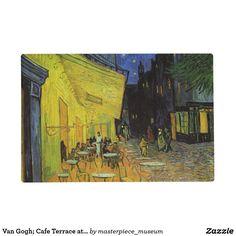 Van Gogh; Cafe Terrace at Night Placemat