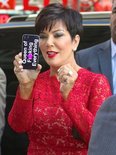 Kris Jenner Haircut Pictures Perfect