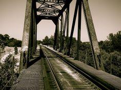 crossing the bridge Rocklin, California