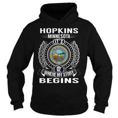 Hopkins, Minnesota Its Where My Story Begins - #handmade gift #cool gift. Hopkins, Minnesota Its Where My Story Begins, gift exchange,shirt dress. ACT QUICKLY =>...