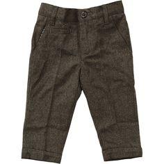 spodnie chłopięce QF eleganckie szary r.86