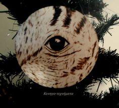 Πυρογραφία Μάτι Μπεκάτσα / Pyrography Woodcock Eye / Wood Burning Art Τα Χριστούγεννα του Κυνηγού / Hunter X' mas Γεωργία Μέκκου