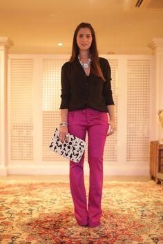 color pant #FashionInspiration