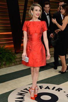 Emma Roberts. La fiesta post Oscar de Vanity Fair 2014