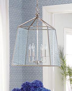 Regina-Andrew Design Square Glass Chandelier ... code FIRST for order