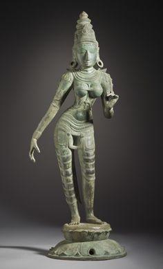 The Hindu Goddess Shridevi, 13th century | LACMA Collections