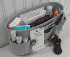 Purse ORGANIZER insert SHAPER  by DivideAndConquer