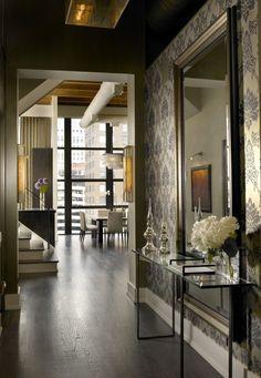 Loft entry hall...