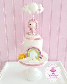 Unicorn Cake  - cake by Carolinchens Zuckerwelt