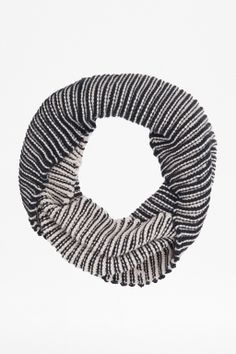 """B+ W Striped """"Crystal Snood"""" - Accessories - French Connection Usa"""