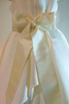 120 Inch Bridal Sash in IVORY Silk Taffeta Sash by TheBridalPath, $22.99