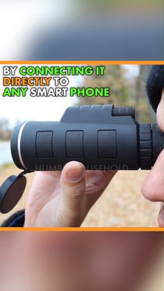 Our Monocular Telescope is amazing for capturing wildlife and magnification in high definition Gadgets And Gizmos, Technology Gadgets, Cool Gadgets, Cool Inventions, Useful Life Hacks, Cool Things To Buy, Stuff To Buy, Telescope, Camping