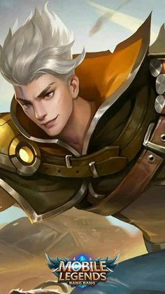 My new main❤️ Mobile Legend Wallpaper, Hero Wallpaper, Miya Mobile Legends, Legend Drawing, Alucard Mobile Legends, Moba Legends, Final Fantasy Cloud, Cool Anime Pictures, Legend Games