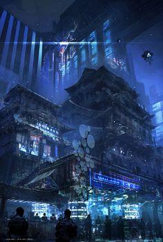Cyberpunk! by Feng Zhu