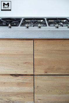 Keuken betonstuc&hout |