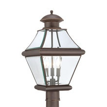 View the Quoizel RJ9011 Rutledge 3 Light Outdoor Post Light at LightingDirect.com. Post light