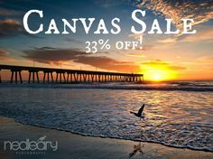Hurry in! Ned Leary Photography is having a blowout sale on all remaining canvases! #shopBM