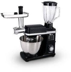 All in 1 Mixer, Meat Grinder, & Glass Blender Jar