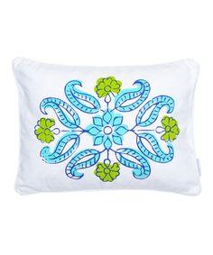 Look at this #zulilyfind! Flower Burst Pillow by Levtex Home #zulilyfinds