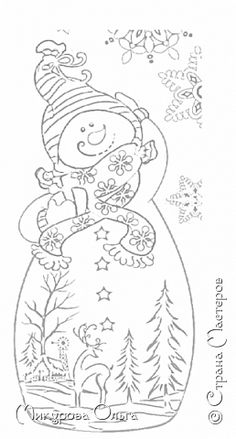 Снеговик фото 4