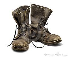 Old Leather Boots