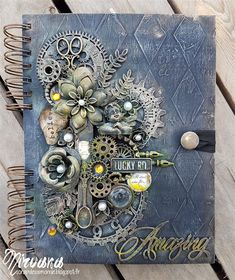 Mixed Media Place: October 2016 - project by DT member - Nirvana