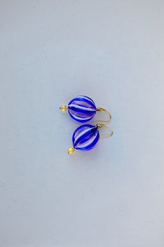 Ciao Bella -  - direct from the island of Murano, these beautiful earrings are made by local Italian artisans. #earrings #Fashion #WomenFashion