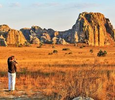 Famous rock formation 'La Fenetre' in Isalo, Madagascar | 7 Awesome Things to Do and See if You Travel to Madagascar