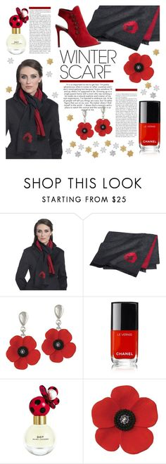 """7th September 2018"" by eternal-collection on Polyvore featuring Chanel, Marc Jacobs, Karen Millen, winterfashion, polyvorecontest, winterstyle, winterscarf and winter2018"
